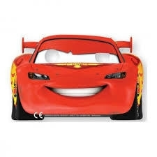 Disney Cars maskers 6 st.