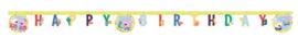 Peppa Pig slinger happy birthday Messy Play 2 mtr.