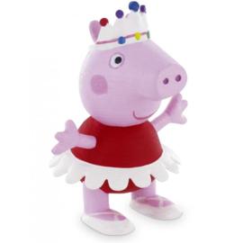 Peppa Pig ballerina taart topper decoratie 6 cm.