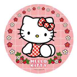 Hello Kitty taart en cupcake decoratie