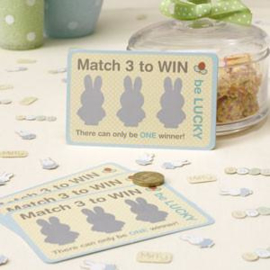 Baby Nijntje - Miffy Scratch & Match Card Game