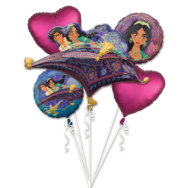 Disney Aladdin folieballonnen boeket 5-delig