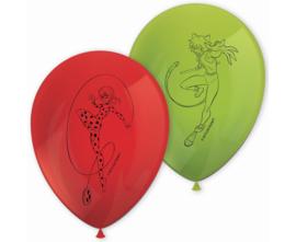 Ladybug ballonnen party ø 28 cm. 8 st.