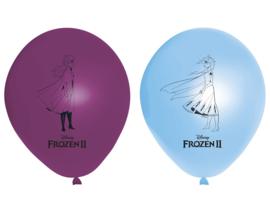 Disney Frozen 2 ballonnen ø 28 cm. 8 st.