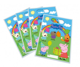 Peppa Pig and friends traktatiezakjes 6 st.