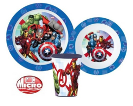 Mighty Avengers ontbijtset 3-delig