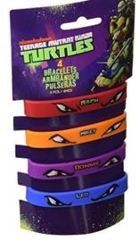 Ninja Turtles uitdeel armbandjes 4 st.