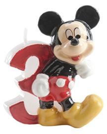 Disney Mickey Mouse Clubhouse 3e verjaardagskaars