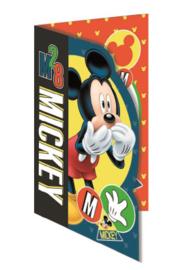 Disney Mickey Mouse wenskaart M28 (blanco)