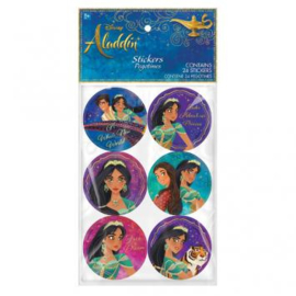 Disney Aladdin stickers 4 vel