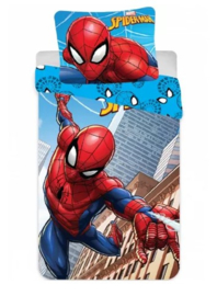 Spiderman ledikant dekbedovertrek 90 x 132 cm. (let op: afwijkende maat)