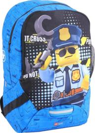 Lego City politie rugzak L 40 x 27 x 18 cm.