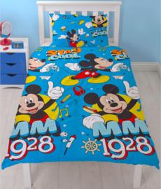 Disney Mickey Mouse dekbedovertrek Stay Cool 135 x 200 cm.