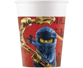 Lego Ninjago bekertjes 200 ml. 8 st.