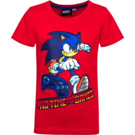 Sonic The Hedgehog t-shirt rood mt. 92