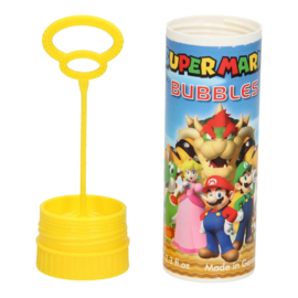 Super Mario Bros bellenblaas geel 70 ml.