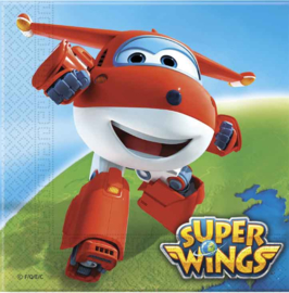 Super Wings servetten 33 x 33 cm. 20 st.