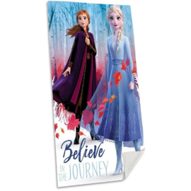 Disney Frozen II strandlaken Believe in the Journey A 70 x 140 cm.