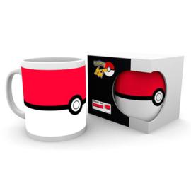 Pokémon Pokeball porseleinen mok