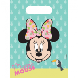 Disney Minnie Mouse tropical traktatiezakjes 6 st.