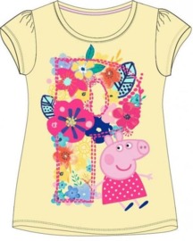 Peppa Pig t-shirt geel mt. 122