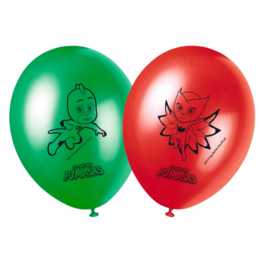 PJ Masks ballonnen ø 28 cm. 8 st.
