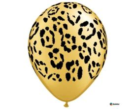 Luipaard ballonnen ø 27,9 cm. 6 st.