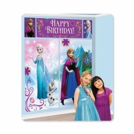 Disney Frozen muurdecoratie (scene setter) 5-delig
