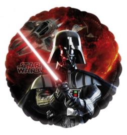 Star Wars folieballon Darth Vader ø 45 cm.