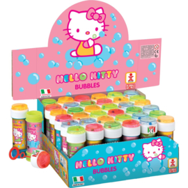 Hello Kitty bellenblaas 60 ml. p/stuk