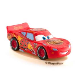 Disney Cars taart topper Lightning McQueen 4 cm.