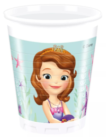 Disney Sofia the First bekertjes Pearl of the Sea 200 ml. 8 st.