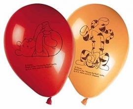 Disney Winnie de Poeh en Tijgetje ballonnen 8 st.