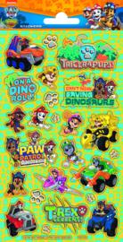 Paw Patrol stickers Dino Rescue