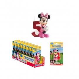 Disney Minnie Mouse Clubhouse 5e verjaardagskaars 3D