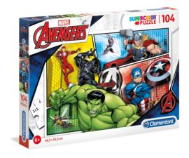 Avengers puzzel 104 stukjes