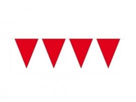 Vlaggenlijn rood 10 mtr.