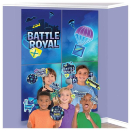 Battle Royal scenesetter met foto props