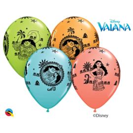 Disney Vaiana en Maui ballonnen ø 28 cm. 6 st.