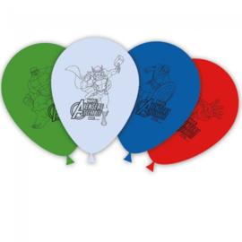 Avengers Assemble ballonnen ø 28 cm. 8 st.