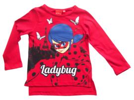 Ladybug longsleeve rood mt. 104
