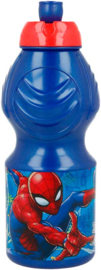 Spiderman drinkfles Graffiti 400 ml.