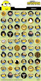 Minions mini stickers