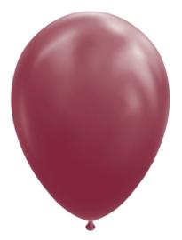 Ballon burgundy ø 30 cm. 10 st.