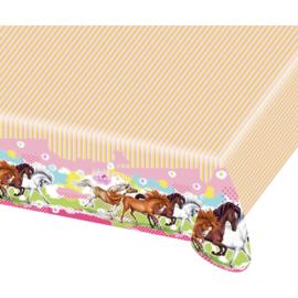 Paarden tafelkleed 180 x 120 cm.