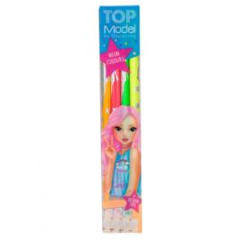 TOPModel kleurpotloden neon 4 st.
