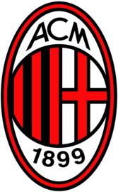 AC Milan taart en cupcake decoratie