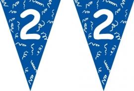 Vlaggenlijn blauw 2 jaar 5 mtr.