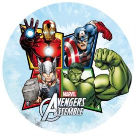 Avengers Assemble taart en cupcake decoratie