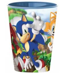 Sonic The Hedgehog drinkbeker 260 ml.